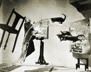 Philippe Halsman, Dali Atomicus, Black & White Photograph, 1948