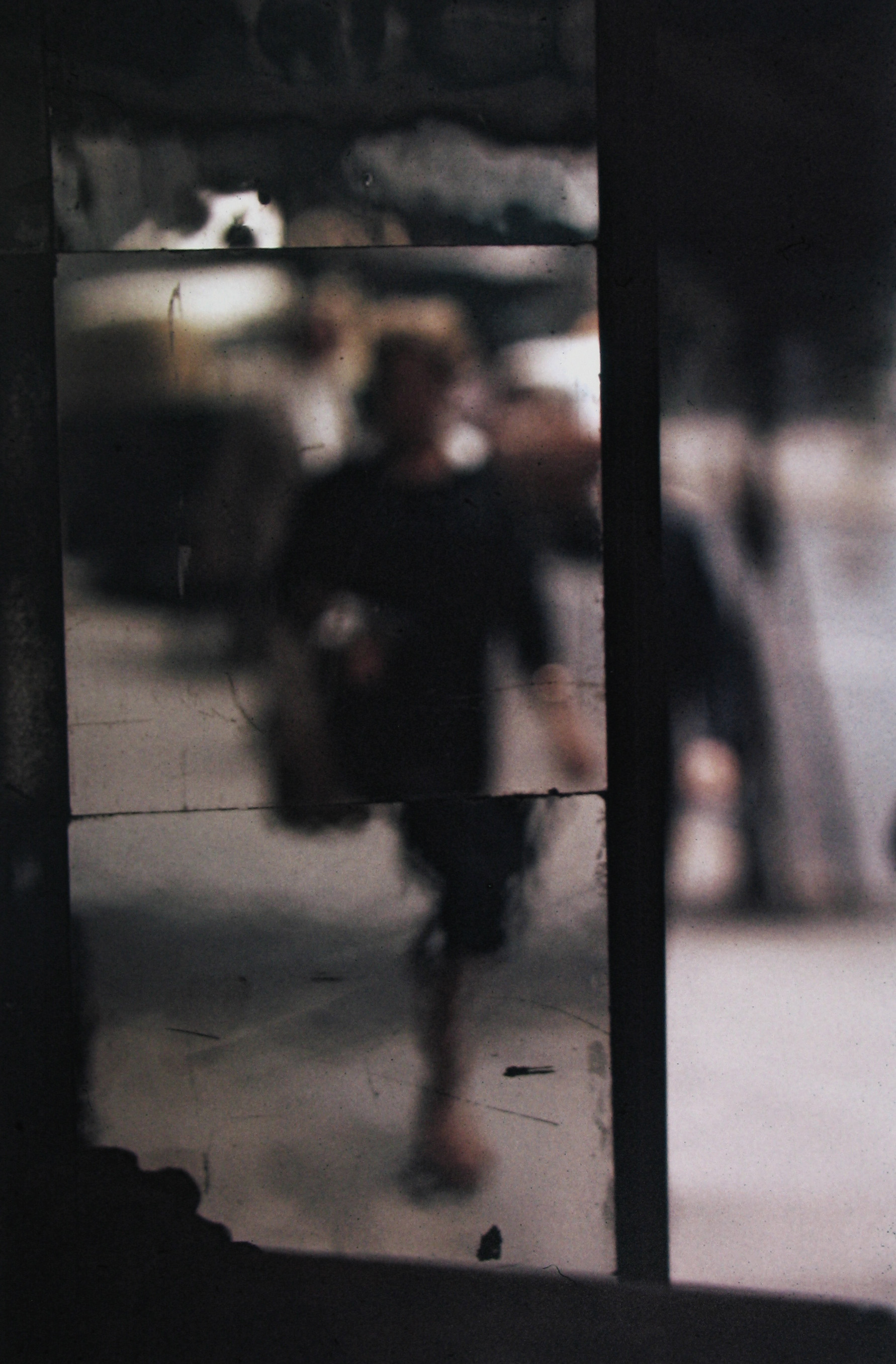 Saul Leiter, Shopper, Color Photograph, 1953