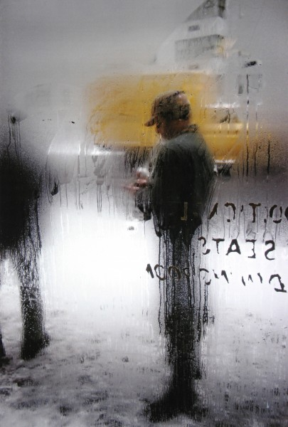 Saul Leiter, Snow, Color Photograph, 1960