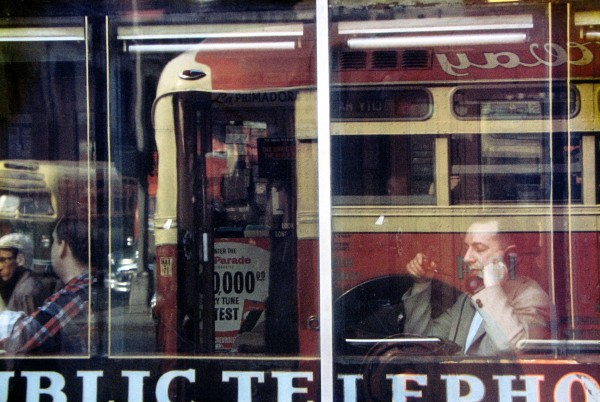 Saul Leiter, Phone Call, Color Photograph, 1957