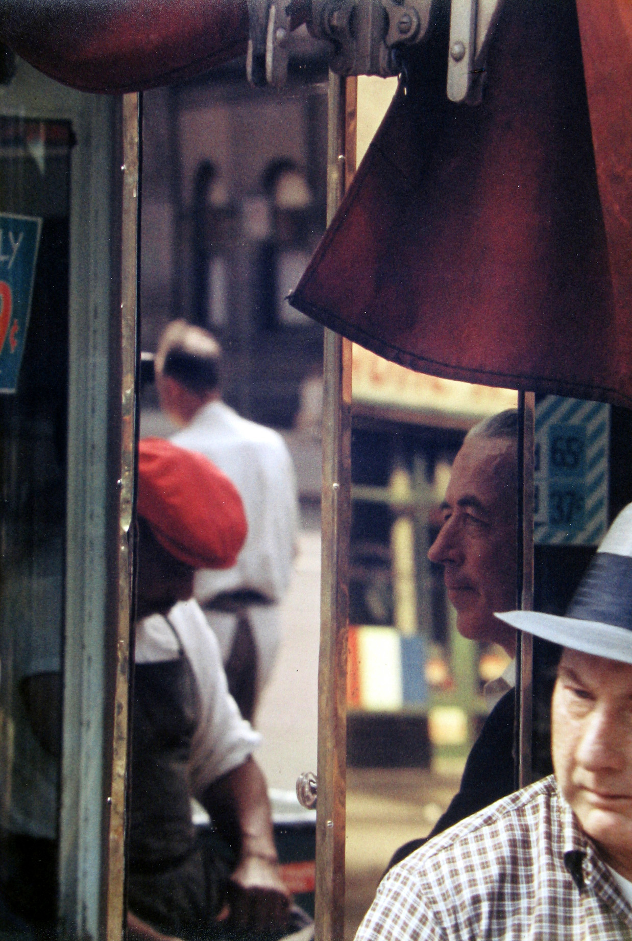 Saul Leiter, Reflection, Color Photograph, 1958