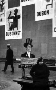 André Kertész, Dubonnet, Paris, 1934, Gelatin Silver Print