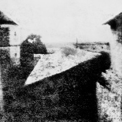 Nicéphore Niépce, View from the Window at Le Gras