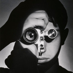 Andreas Feininger, Self-Portrait,1951
