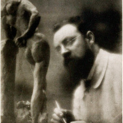 Edward Steichen, Henri Matisse and La Serpentine, 1909