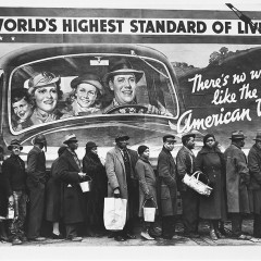 Margaret Bourke White, The Louisville Flood, 1937