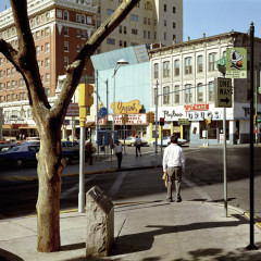 Stephen Shore, El Paso Street, El Paso, Texas, July-5-1975 Uncommon Places