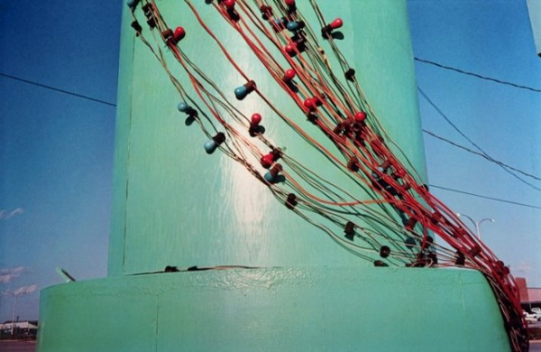 "William Eggleston , Untitled, Color Photograph, c.1971 – 1973 from ""Troubled Waters"" 1980"