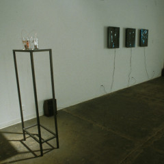 Ions in the Ether, Photograms Etched in Zinc, Installation View, Aric Attas