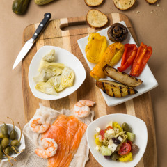 Food Photographer, Appetizers Photographed for Vero Home, Life & Design Magazine, Aric Attas