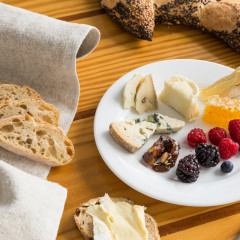 Florida Based Food Photographer Aric Attas, Cheese & Fruit Plate, Patisserie Vero Beach, Florida