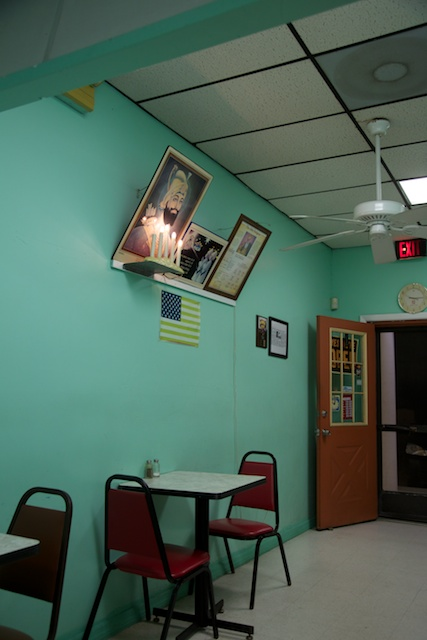 Aric Attas, Waiting for Indian food carry-out, 2013