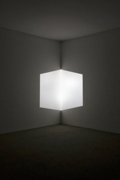 James Turrell, Afrum (White), 1966, Projected light, Dimensions variable.
