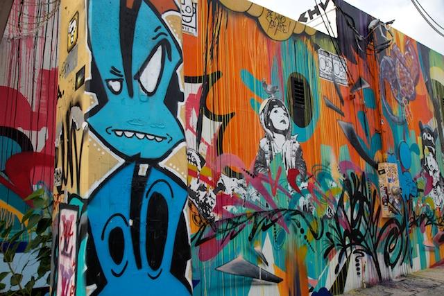 Aric Attas, Wynwood Art District Miami Street Art, 2013.