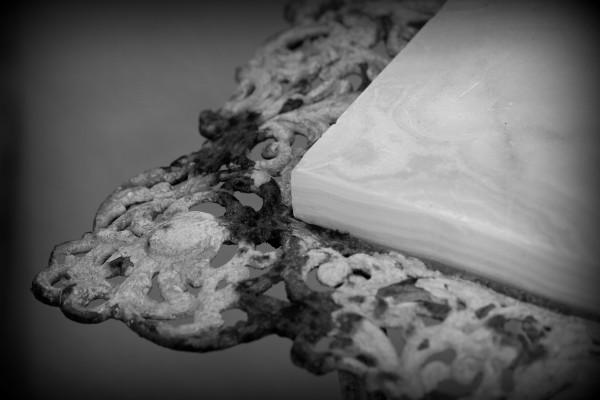 Jenna Lanam, On Edge, Black + White Photograph, 2013