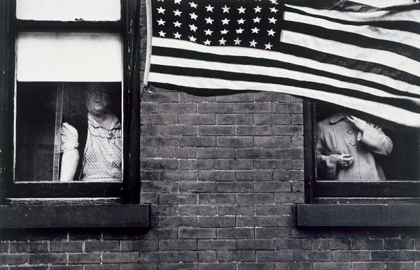 Robert Frank, Parade—Hoboken, New Jersey, 1955