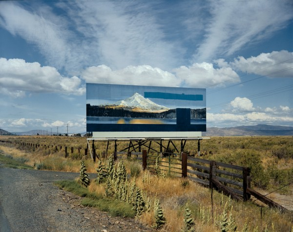 "Stephen Shore (American, born 1947), U.S. 97, South of Klamath Falls, Oregon. July 21, 1973, Chromogenic color print (printed 2005), 17 1/4 x 21 1/2"", © 2009 Stephen Shore"