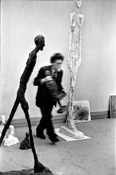 Henri Cartier-Bresson, Alberto Giacometti In His Studio, 1961