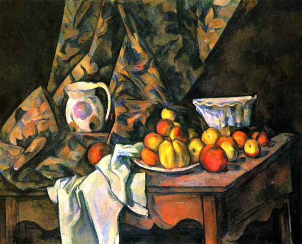 Still Life with Apples and Peaches, Paul Cézanne, 1905