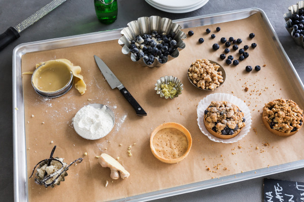 Food Photography in Vero Beach, Florida by Aric Attas, Blueberry Ginger Cobbler Ingredients
