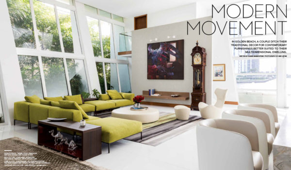 Architectural Interior Photography for Luxe Magazine, Miami, FL