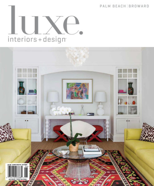 Architectural Interior Photography for Luxe Magazine, Windsor, Vero Beach, FL