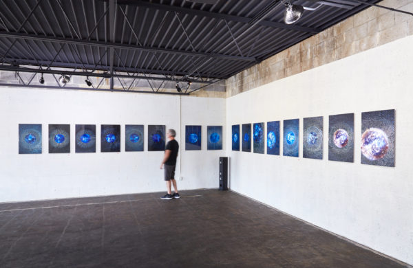 Ancient // Future Installation View of works from A Glimpse of Infinity, Aric Attas, 2018
