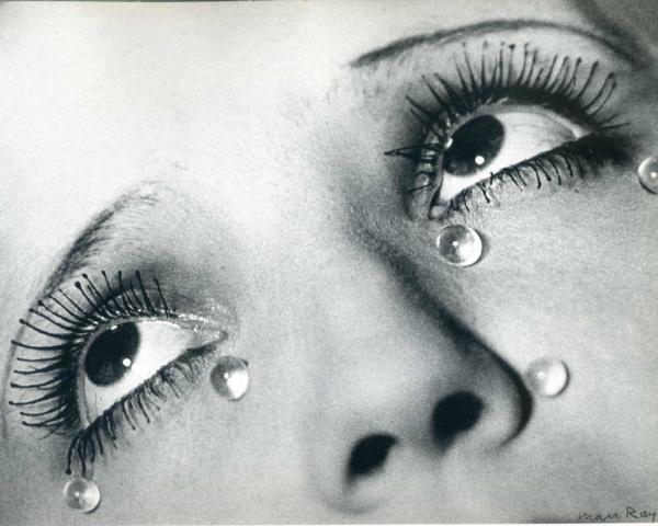 Glass Tears, 1932, Man Ray