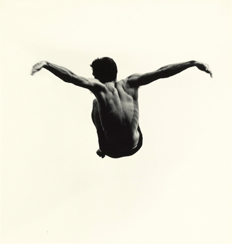 Aaron Siskind, Pleasures and Terrors of Levitation 94, 1961.