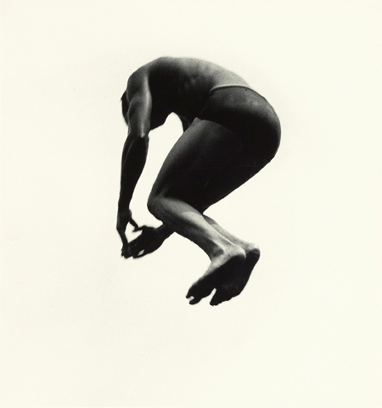 Aaron Siskind, Pleasures and Terrors of Levitation 25, 1957.