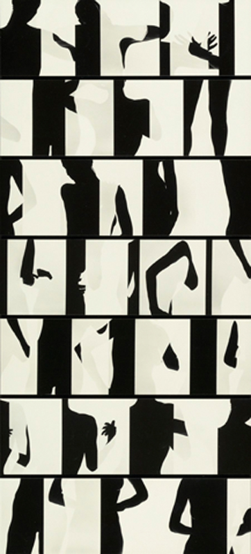 Ray K. Metzker, Composites: Nude, negatives 1966, prints 1984.