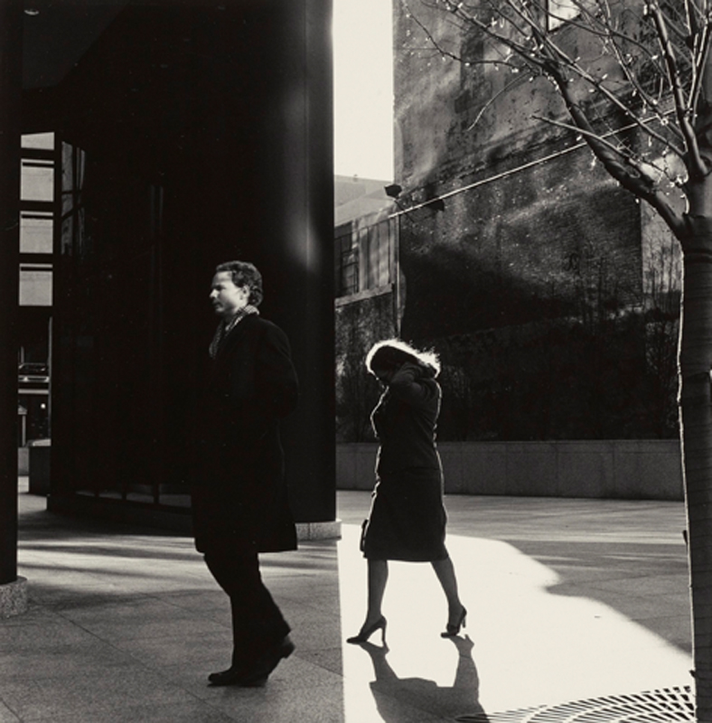 Ray K. Metzker, City Whispers, Philadelphia, 1983.