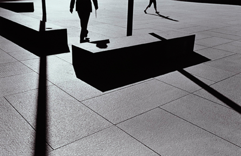 Ray K. Metzker, City Whispers: Los Angeles, negative 1981, print 2006.