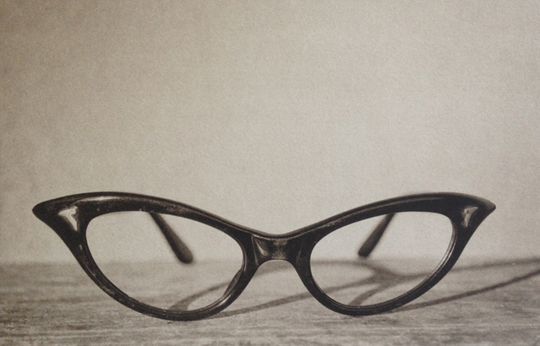 LISA BLAIR, Mar's Glasses, 7 x 9.5 inches framed, Platinum / Palladium print